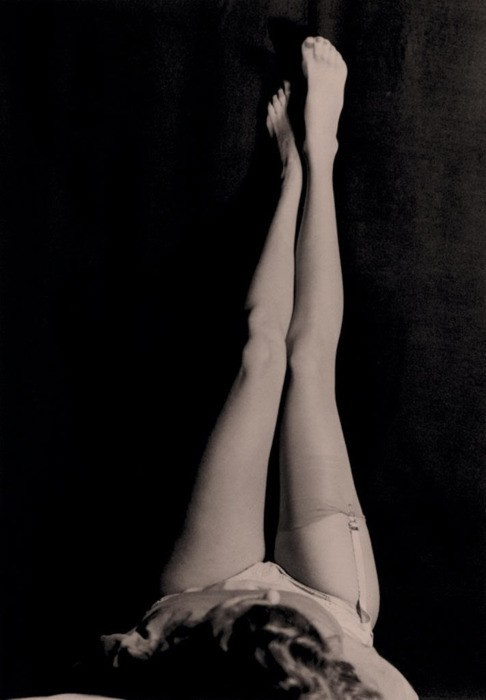 """Stockings"" by Man Ray via: Pinterest"