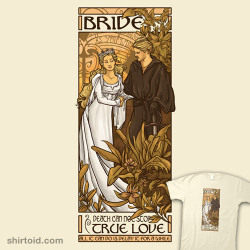 shirtoid:  Bride available at RedBubble