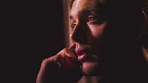 Those beautiful green orbs. *sigh*  Supernatural 1.16 Shadow