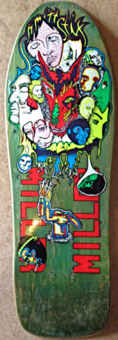 DECK OF THE DAY | PLANET EARTH | CHRIS MILLER | ART BY CHRIS MILLER