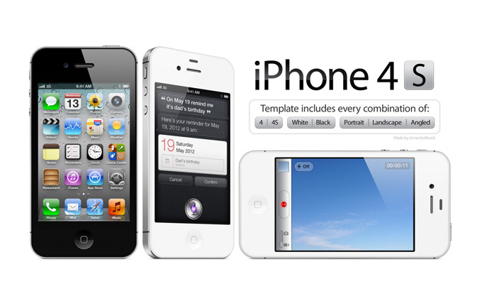 High Resolution iPhone 4/4S PSD Template For your comping and design enjoyment.