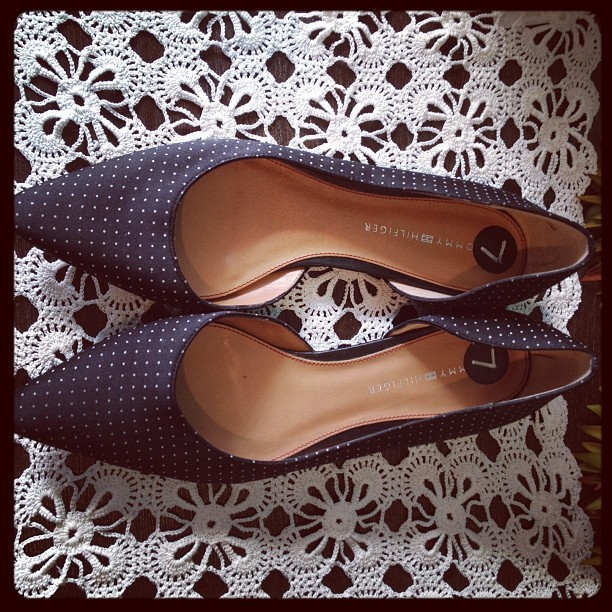 Tommy Hilfiger #flats #footwear #shoes 7 $16 (Taken with Instagram at Blackbird Attic)