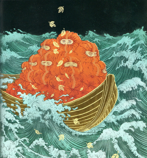 2headedsnake:  bibliodyssey.blogspot.com  When I Opened My Eyes, Yuko Shimizu (2009)
