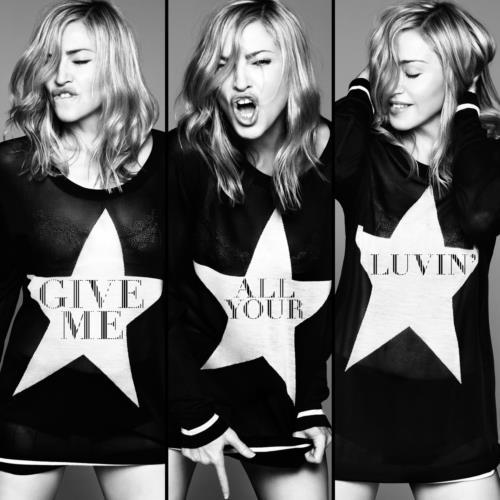 "The new era of Madonna has officially begun! Yesterday, the artwork for Madonna's new single ""Give Me All Your Luvin"" has been released! The lead single from her forthcoming album ""M.D.N.A"" is being premiered this Friday along with the video, featuring Nicki Minaj and M.I.A. This will be 2 days before Madonna's highly-anticipated Half Time performance at the Superbowl with Nicki Minaj, M.I.A and (rumoured) LMFAO, which will be followed with a global iTunes pre-order for an 18-track edition of ""M.D.N.A""."