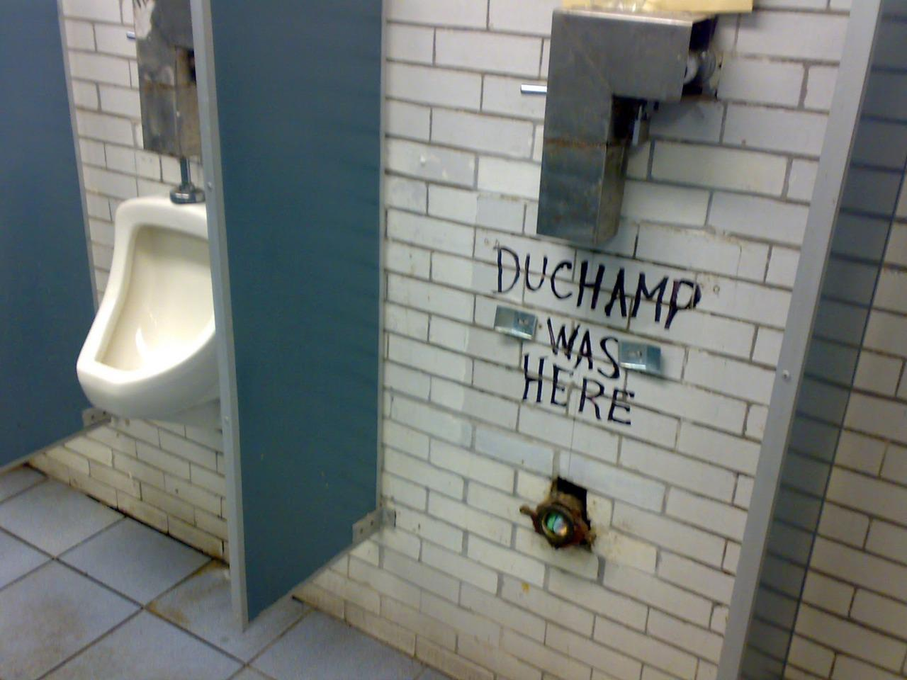 Duchamp was here.