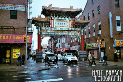 Chinatown Arch on Flickr.This photograph was taken in Philadelphia, PA of the Chinatown Arch on 10th and Arch Street on January 27, 2012 by Matthew Brasch. Camera: Olympus AX 2 Lens: Olympus D-Zuiko 35mm f/3.5 Focal Length: 35 ISO: 400
