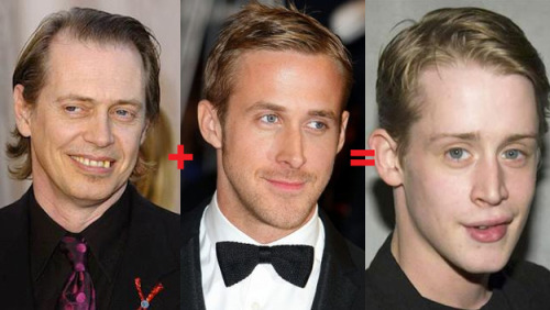 Combined: Steve Buscemi + Ryan Gosling = Macaulay Culkin Related: A decade of Meth (Via:Buzzfeed)