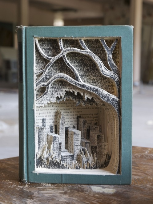 A Tree Grows in Brooklyn  Book Art By Jonathan Wiley, A Tree Grows In Brooklyn.