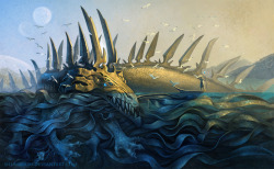 A meeting in the Ocean by ~Shumshum —- x —- [Random Creature at CfD]
