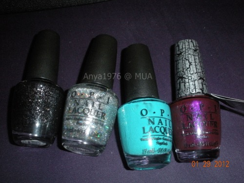 anyas-nails:  I only got a few of the nicki minaj collection. Metallic 4 life, save me, fly, super bass