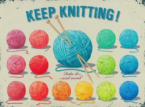 That's beautiful and makes me want to knit again :D