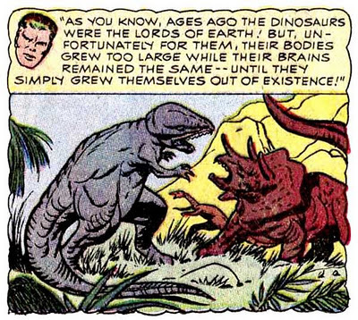 MAKES SENSE! (via PALAEOBLOG: Reed Richards - Palaeontologist!)