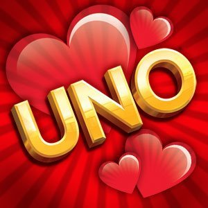 Though I enjoy Uno, I am not attempting to advertise for the game. I just feel their ad sums up my every Valentine's Day a bit too well.