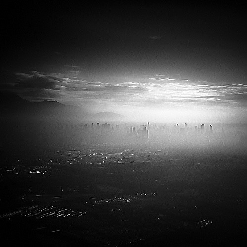 black-and-white:  Dawn (by Hengki Koentjoro)
