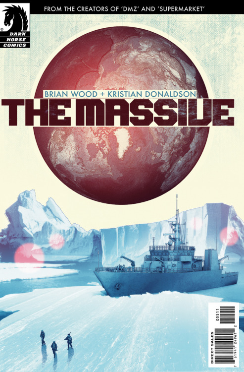 THE MASSIVE #1 cover, due in June. Check out the design process here: http://io9.com/5880634/