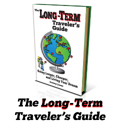 Long-Term Traveler's Guide Book Launch: February 11th read my travel tips for traveling on your own