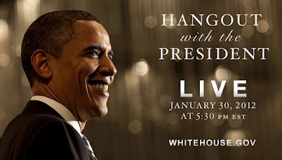 laughingsquid:  Google+ Hangout with Barack Obama