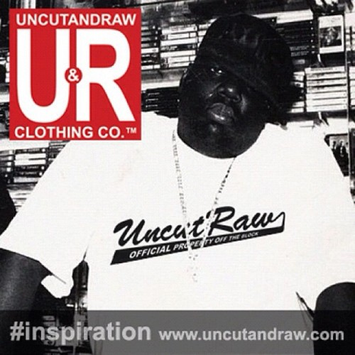#inspiration #hiphop #rapper #graphic #tees #streetwear #uncutandraw #classic (Taken with instagram)