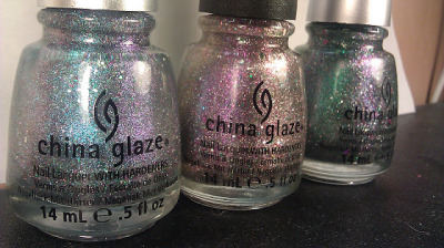 theholynail:  China Glaze Prismatic Collection.