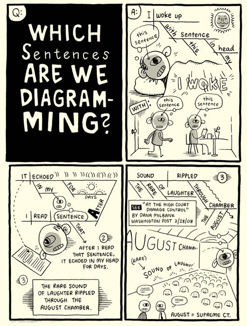 Which Sentences Are We Diagramming? by Kevin Huizenga