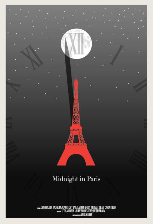 minimalmovieposters:  Midnight in Paris by Hunter Langston