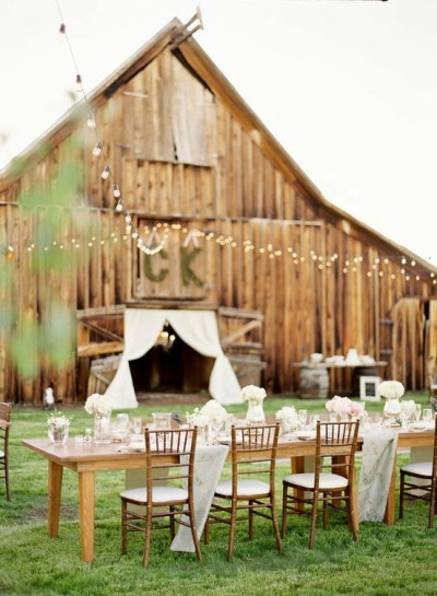 thelookwedphoto:  Daily Inspiration - Barn Wedding Check us out at www.thelookweddingphotography.com