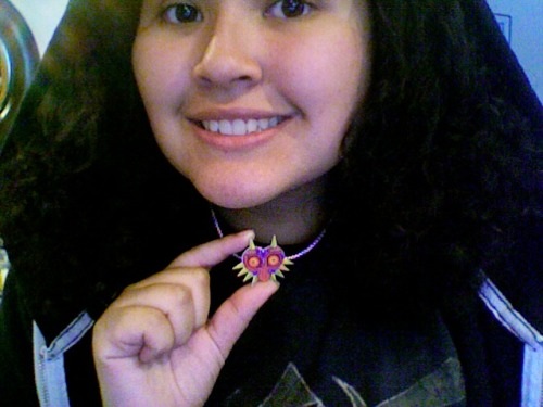 My necklace has arrived at last!