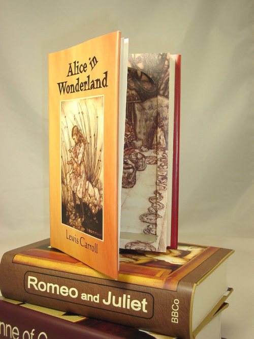 Alice in Wonderland hollow book safe by SecretStorageBooks