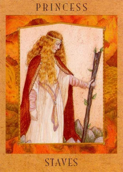 Page of Wands / Princess of Staves
