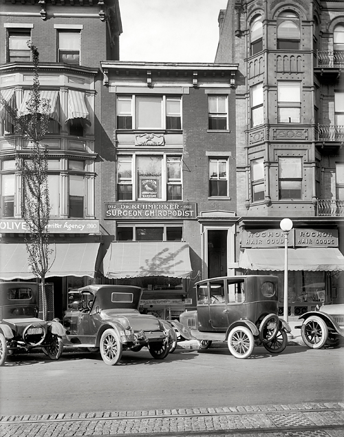 Washington, D.C., in 1921. 912 14th Street.