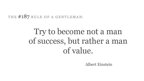 value > success