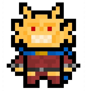 Etrigan, the monstrously violent demon bonded to the soul of medievil knight James Blood and frequent good guy / bad guy in the DC universe.  Speaks in rhyme all the time, and was once even turned into a hatrack.   Requested by: http://eatallthethings1.tumblr.com/