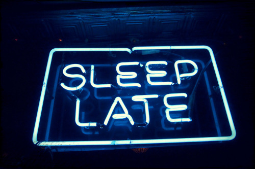 dramirez484:  Sleep Late