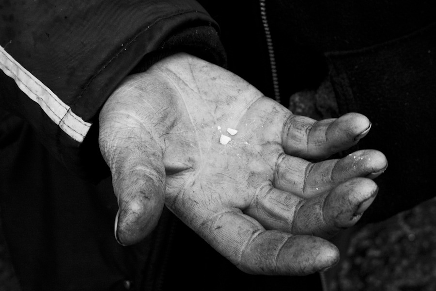 Crack Cocaine, Vancouver's Downtown Eastside. 2007 Known as one of the most beautiful and livable cities in the world, Vancouver BC has a dark underbelly. The downtown eastside neighbourhood has the highest rate of heroin use in North America, the highest rate of HIV infection in the first world and posts the lowest income of any postal code in Canada.