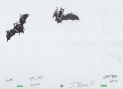 Bats (Production Sketch)