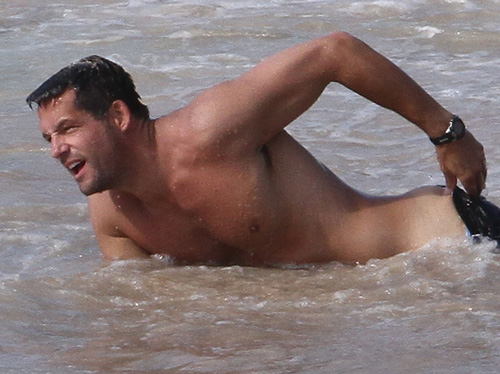 Josh Hopkins (paparazzi photo)
