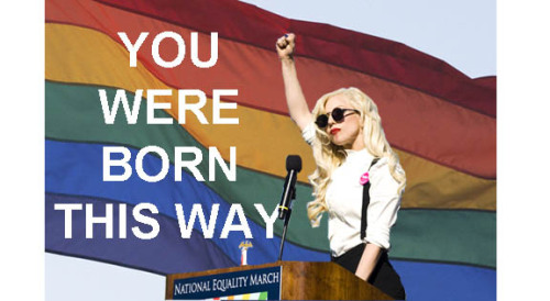 zealoussaoirse:  Lady Gaga speaking at a National Equality March in Washington D.C.