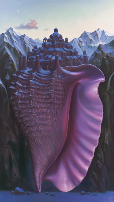 black-tangled-heart:  Above The Sea Level by Vladimir Kush