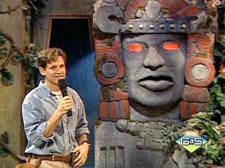 I loved this Nick show! Olmec: Legends of the Hidden Temple The 90s <3