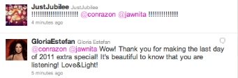 HEY REMEMBER WHEN LA GLORIA TWEETED AT ME AND NATI? #neverforget