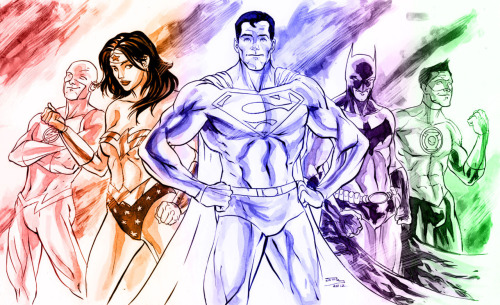 Justice League by Phillip Sevy