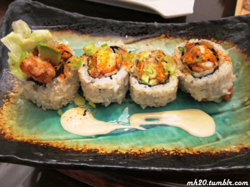 spicy rock shrimp tempura roll