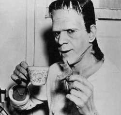 goreflix:  KARLOFF ENJOYS A CUP OF TEA… THE MONSTER BRAWL FANHUB PAYS TRIBUTE TO A LEGEND. CLICK NOW
