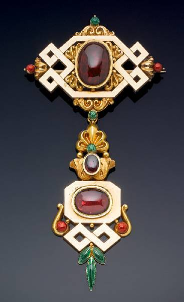 Garnet symbolizes the 2nd wedding anniversary, and during the 1800s, garnet symbolized the 18th wedding anniversary. The idea of giving symbolic gifts based on the number of years a couple had been married started to become really popular during the mid-to-late-1800s. Different countries have different lists, but in the United States the first list of wedding anniversary gifts was compiled by librarians at the Chicago Public Library. Then in 1937 the Jewelers of America created the official list of modern anniversaries.