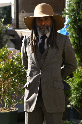 Oh, come on, it's a guy with dreadlocks in a SUIT! SOURCE: http://www.thesartorialist.com/photos/one-year-ago/