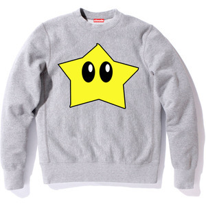 Star crewneck by Clouds LA (click picture to purchase)