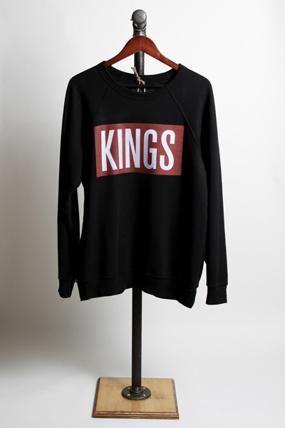 Kings Crewneck Sweater by Kings Without Crowns (click picture to purchase)