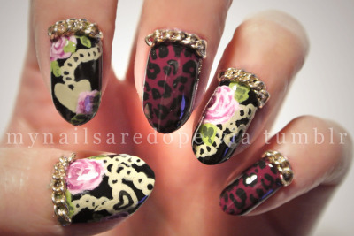 mynailsaredope:  Another Betsey Johnson inspired! What designers/artists inspire you?