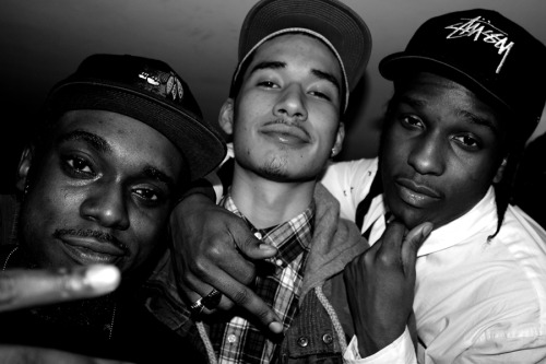 Gramz (@GramzD) Dash (@Heirdash) and Rocky (@asvpxrocky)