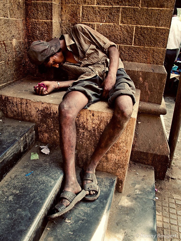 Asleep | Life in Mumbai, India 2011